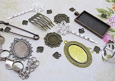 Основы для колец, кулонов, браслетов