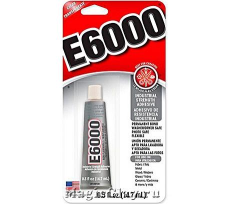 E6000 клей для бижутерии, 14.7 мл