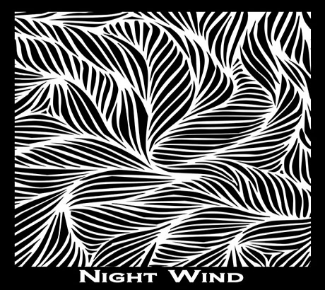 Silk Screen трафарет Night Wind