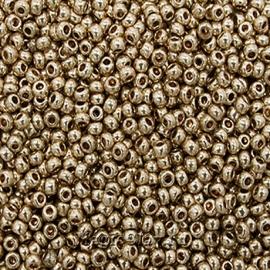 Бисер чешский 10/0 Кристалл, 18112 Gold