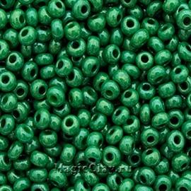 Бисер чешский 10/0 Непрозрачный, 53233 Green