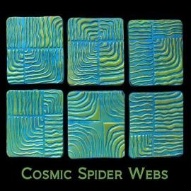 Helen Breil текстурный лист Cosmic Spider Webs