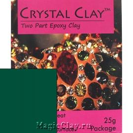 Эпоксидная глина Crystal Clay, Зеленый Темный