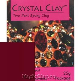 Эпоксидная глина Crystal Clay, Бордовый
