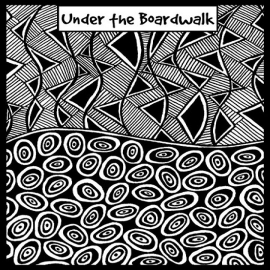 Helen Breil текстурный лист Under the Boardwalk