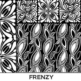 Pixie Art Stamps текстурный лист Frenzy