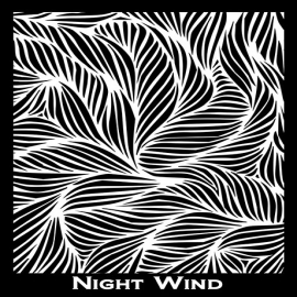 Silk Screen трафарет Night Wind
