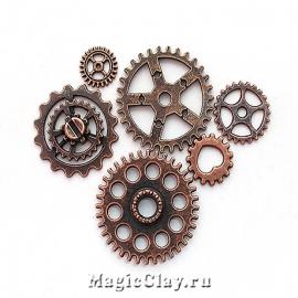 Watch Часовые Механизмы, цвет медь, 10шт