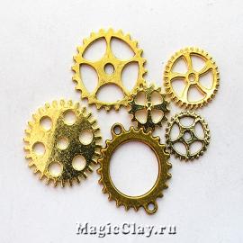 Watch Часовые Механизмы, цвет золото, 10шт