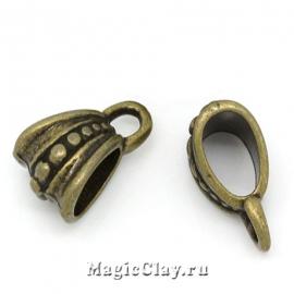 Бейл Гранд Роял 15х9мм, цвет античная бронза, 1шт