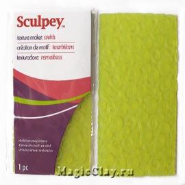 Sculpey текстурный лист Вихри
