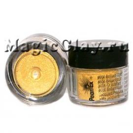 Пудра Pearl Ex 656 Золото бриллиантовое