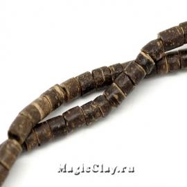 Бусины деревянные Кон-Тика, 1нить (~210шт)