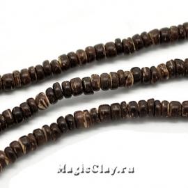 Бусины деревянные Джунгли, 1 нить