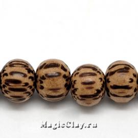 Бусины деревянные Ботани, 10 шт