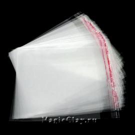 Пакеты с клеящим краем, 12х9 см
