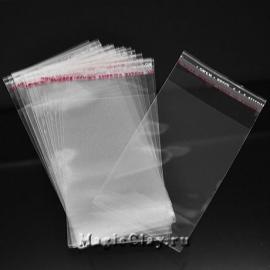 Пакеты с клеящим краем, 11х6 см