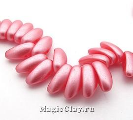 Бусины Chilli 4мм, Pastel Pink, 1нить (~40шт)