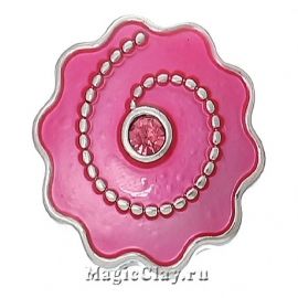 Кнопка Chunk Рассвет, цвет серебро