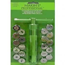 Экструдер (шприц) металлический Makins + 20 сменных дисков