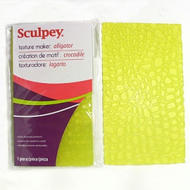 Sculpey текстурный лист Аллигатор