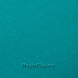 Фетр для рукоделия Rayher 20*30 см, цвет Бирюзовый