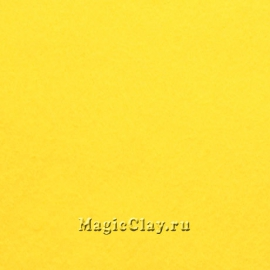 Фетр для рукоделия Rayher 20*30 см, цвет Жёлтый