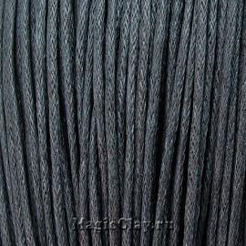 Шнур вощеный 1.5мм Серый, 1 связка (~80метров)