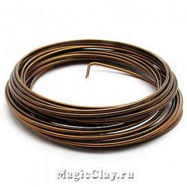 Проволока Craft Wire BeadSmith 1,25мм, цвет бронза