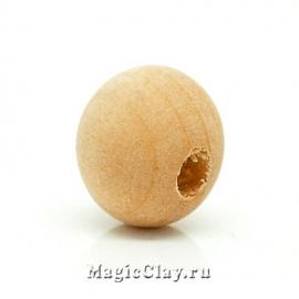 Бусины деревянные Каколанда, 1уп (~50шт)