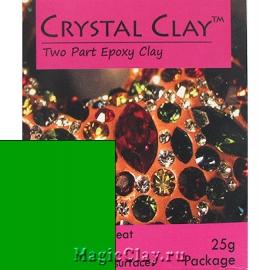 Эпоксидная глина Crystal Clay, Зеленый
