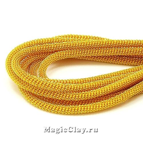 Канитель Витая 3мм Золото, 5 гр (~25-30см)