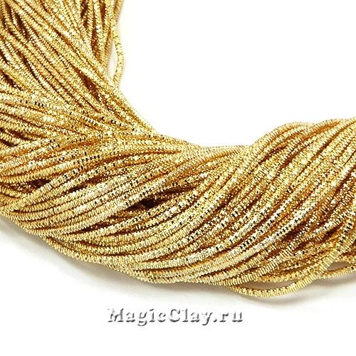 Трунцал 4-гранный 1мм Золото, 5 гр (~380см)