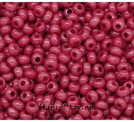 Бисер чешский 10/0 Непрозрачный, 16198 Red, 50гр