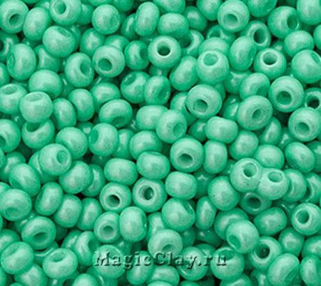 Бисер чешский 10/0 Пастельные тона, 16958 Green, 41гр