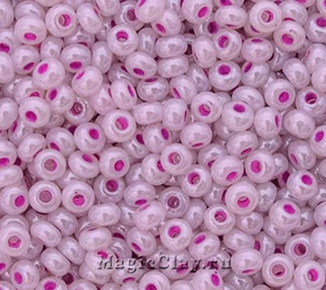Бисер чешский 10/0 Алебастр, 37328 Pearl Purple, 41гр