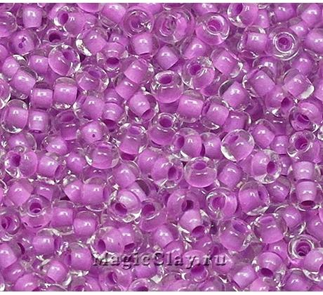 Бисер чешский 10/0 Кристалл, 38328 Purple, 50гр
