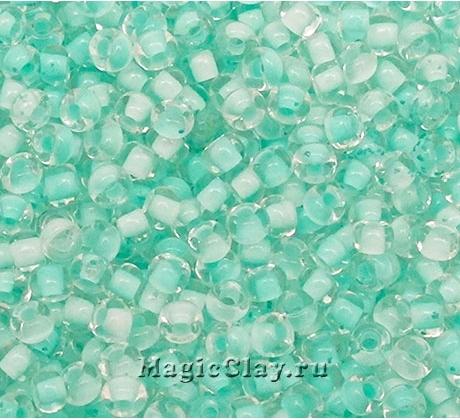 Бисер чешский 10/0 Кристалл, 38353 Mint, 50гр