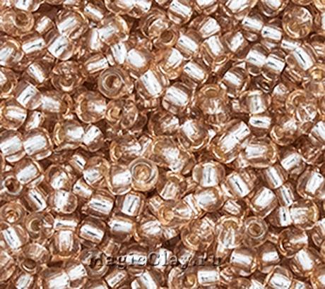 Бисер чешский 10/0 Кристалл, 78112 Light Brown, 50гр