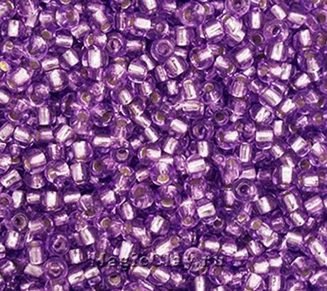 Бисер чешский 10/0 Кристалл, 78123 Lilac, 50гр