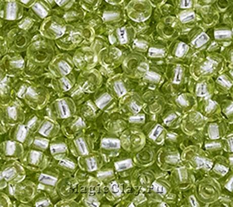 Бисер чешский 10/0 Кристалл, 78153 Light Green, 50гр