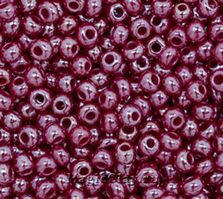Бисер чешский 10/0 Непрозрачный, 98310 Wine Red, 50гр