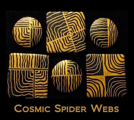 Silk Screen трафарет Cosmic Webs