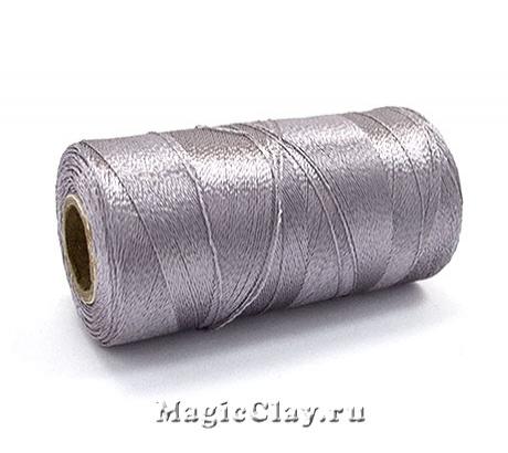 Нить Doli вискоза, цвет Серый Платиновый 03704