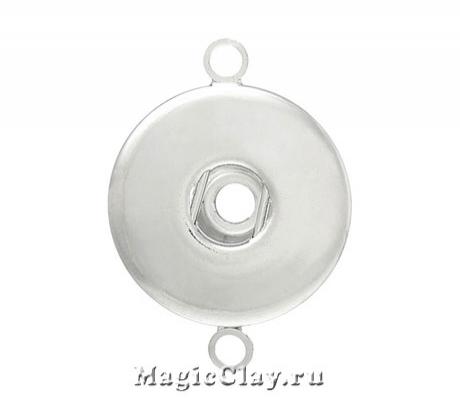 Chunk Коннектор для украшений, цвет серебро