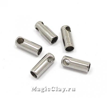 Концевик с ушком 7х2,5мм, сталь, 10шт