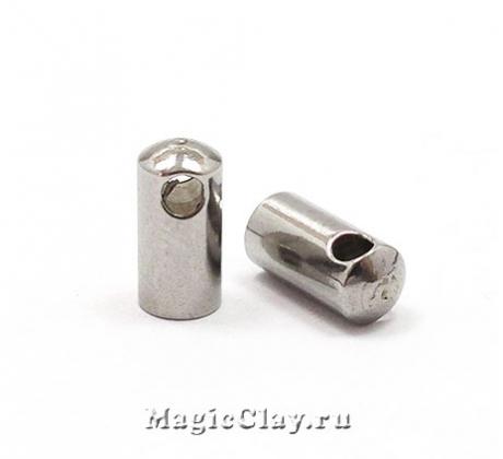 Концевик с ушком 10х4,5мм, сталь, 4шт