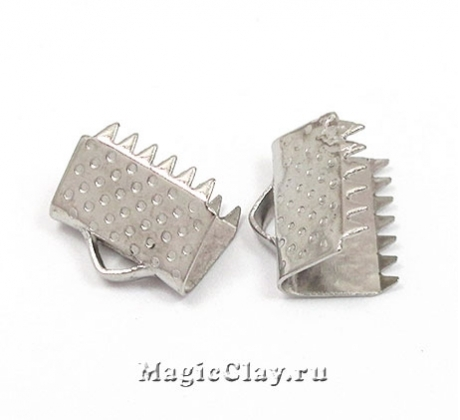 Зажимы для лент 10,5x8,5мм, сталь, 6шт