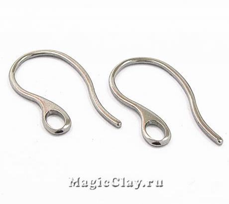 Швензы крючки с отверстием 21,5х11мм, сталь, 1пара