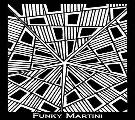 Silk Screen трафарет Funky Martini